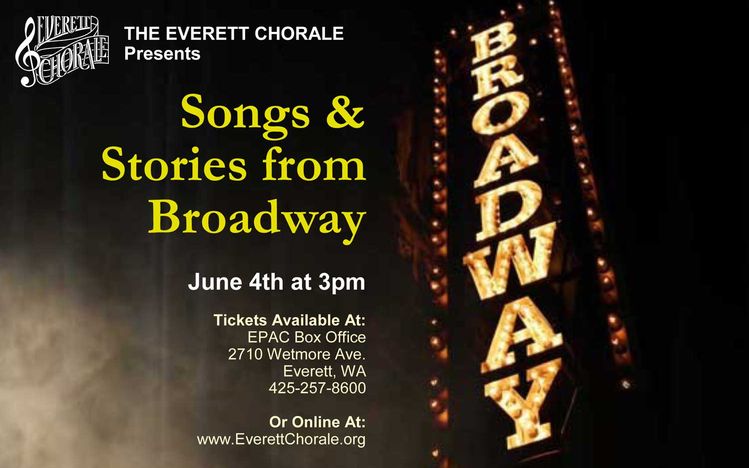 Songs & Stories from Broadway
